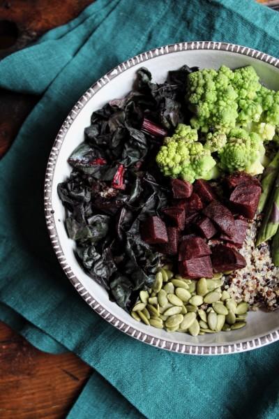 Fall Quinoa Bowls // The Conscious Collective