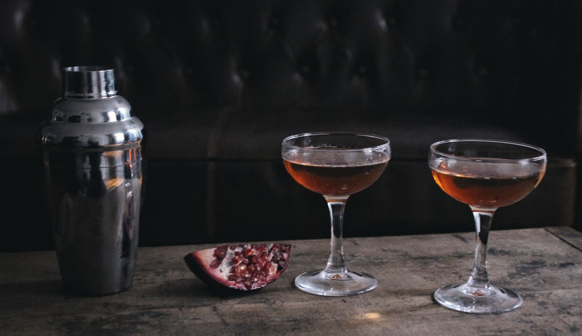 Valentine's Day Pomegranate Cocktail || The Conscious Collective