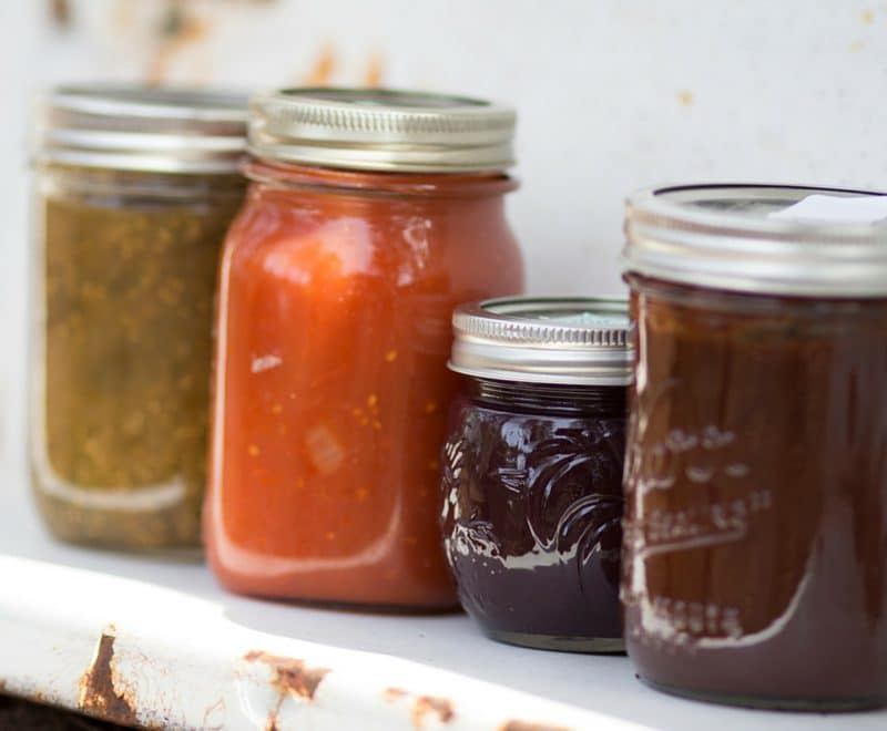 Canning with A Domestic Wildflower