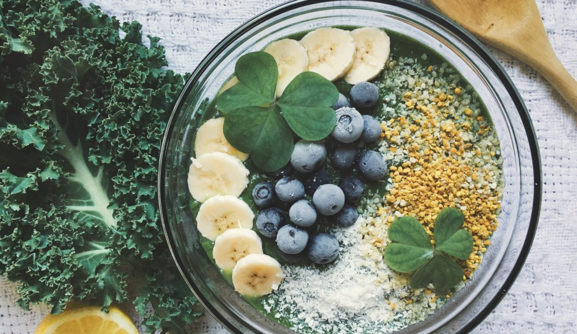 Green Dream: Anti-Inflammatory Smoothie Bowl